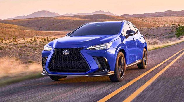 2022 Lexus NX 正式发表,完全革新
