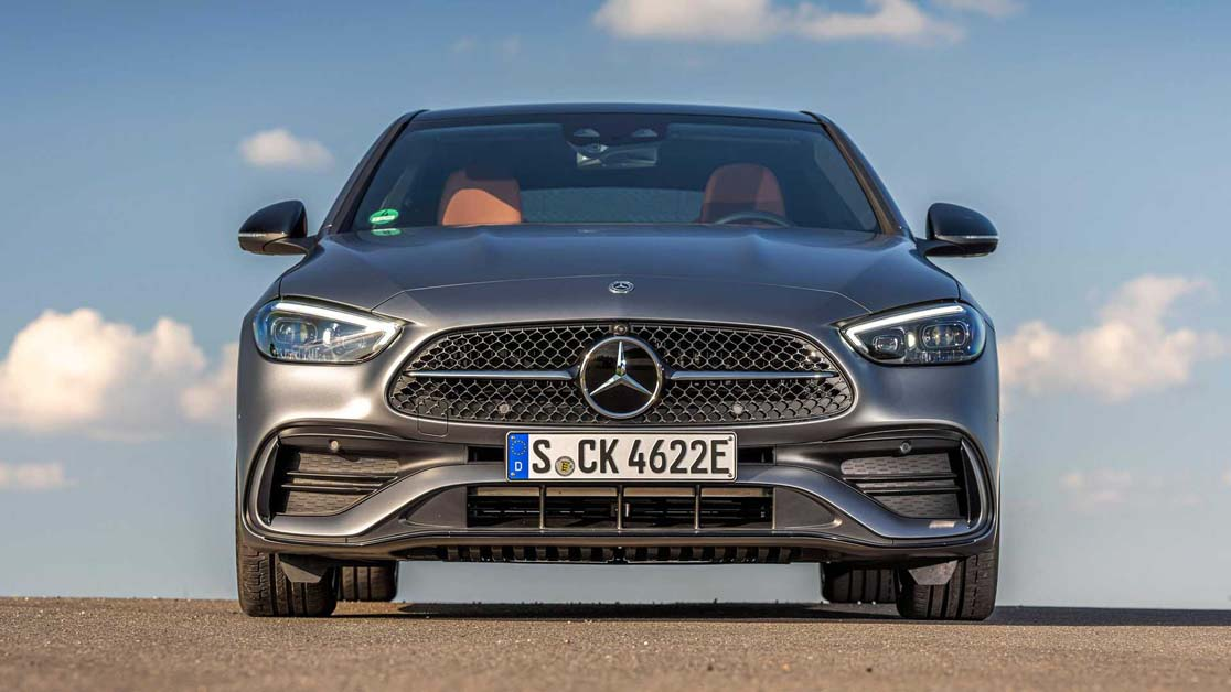 2022 Mercedes-Benz C-Class ,流线美型房车(图库)