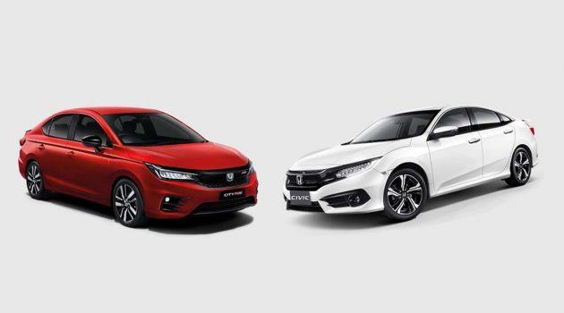 Honda City RS VS Honda Civic 1.8S 应该怎么选?