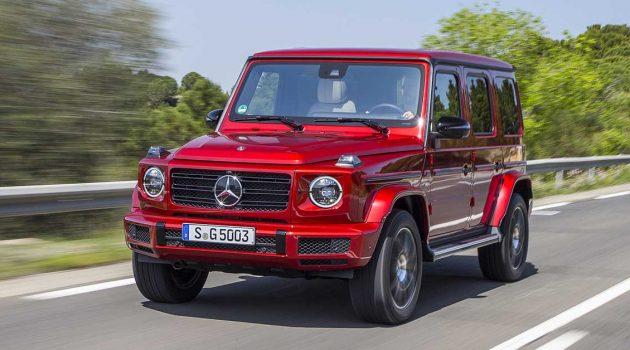 Mercedes-Benz G350d ,霸气十足的SUV!