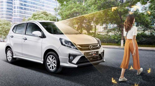 Perodua Axia ,我国最便宜拥有 VSC 的车!