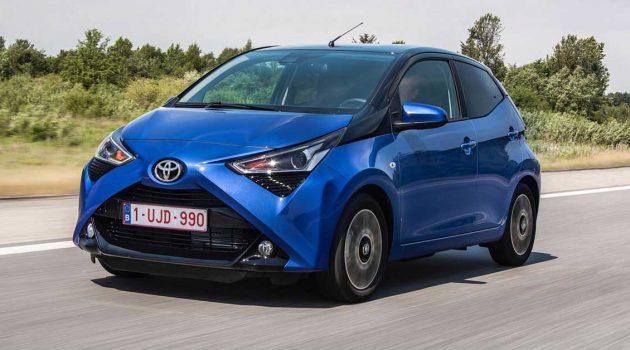 Toyota Aygo ,欧洲最畅销的小车之一!