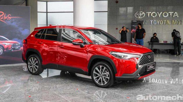 Toyota Corolla Cross 售价调整,1.8V新售价RM 129,266