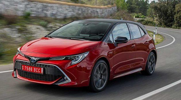 Toyota Corolla Sport 1.2T 入口车现身我国!