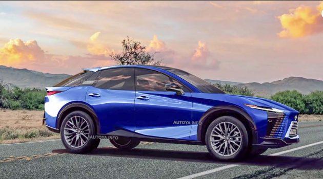 Lexus RX 大改款即将登场,更换全新涡轮引擎!