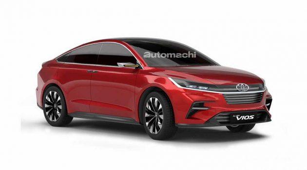 Toyota Vios 将在明年推出大改款车型?