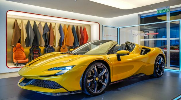 Ferrari SF90 Spider 我国登场,不含税售价 RM 2,088,000 !