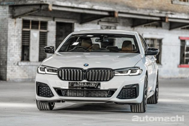 2021 BMW 530e M Sport ,动感的豪华房车