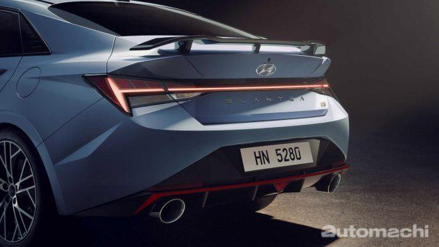 2022 Hyundai Elantra N 搭载2.0L涡轮震撼登场!