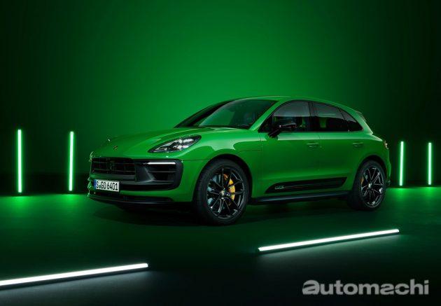 2022 Porsche Macan 正式等行,动力再提升!