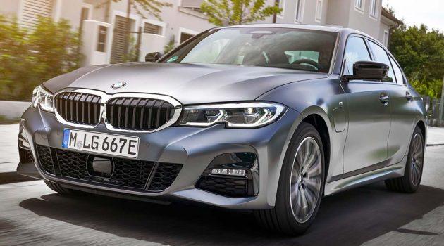 专题:BMW 330e PHEV 对比 330i ,同门的对决