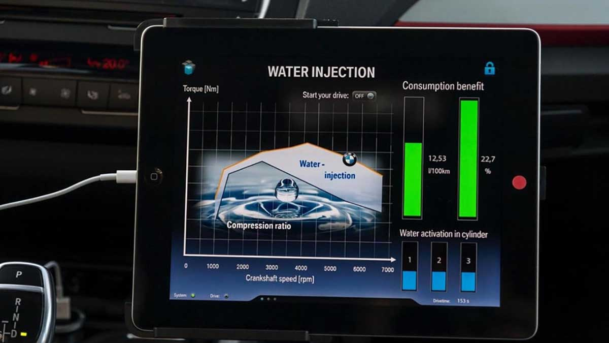 BMW Water Injection System 技术,热损耗的克星!