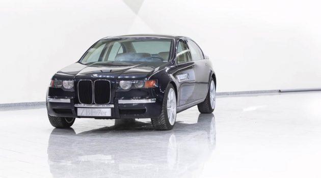 """BMW ZBF-7er,宝马""""大鼻子""""的始祖原型车!"""