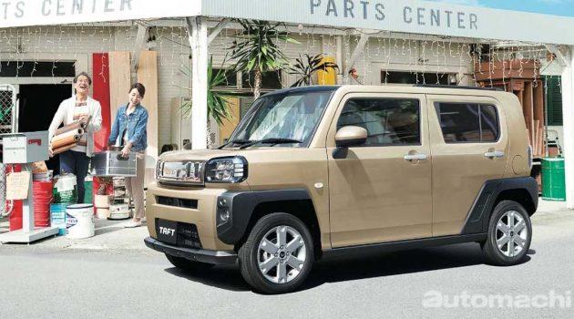 Daihatsu Taft ,超可爱的硬派K-Car