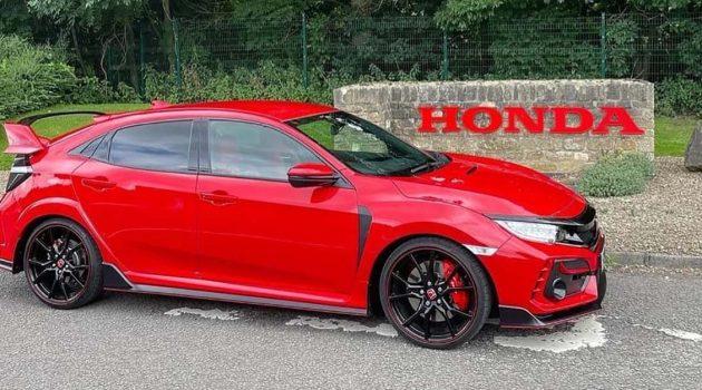 最后一台 Civic FK8 下线,Honda Swindon 工厂停止营运