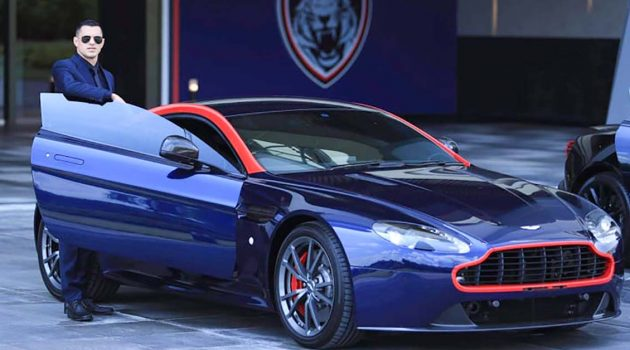历史性的一刻,JDT 宣布和 Aston Martin 进行合作