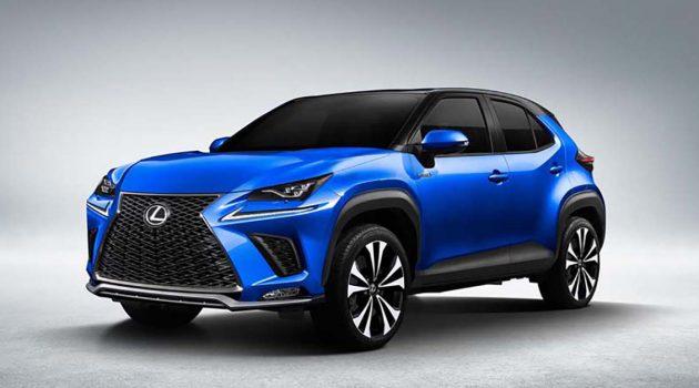 入门豪华SUV, Lexus BX 或已在开发中