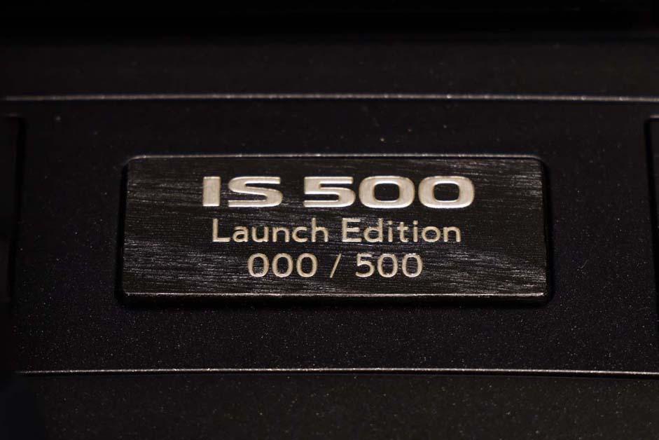 Lexus IS500 F-Sport Performance ,最后的自吸代表