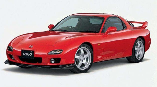 Mazda RX-7 ,日系四大天王之转子天王