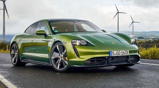 Porsche Taycan ,提前让你享受新世代的驾驶魅力!