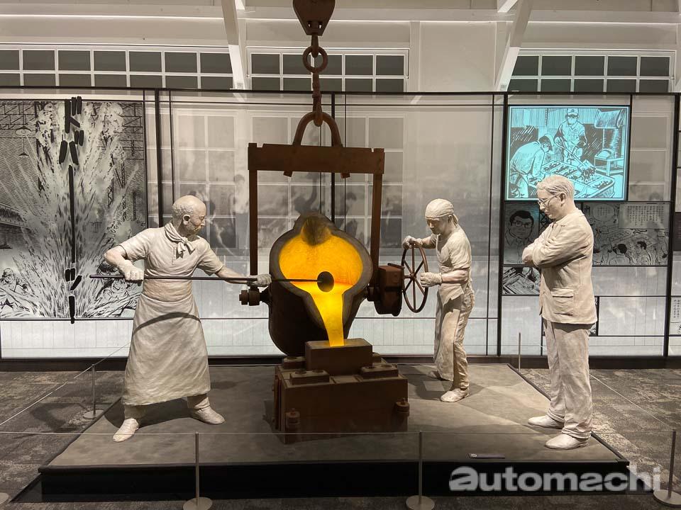 Toyota Automobile Museum 可以让你看到很多前所未见的车款!