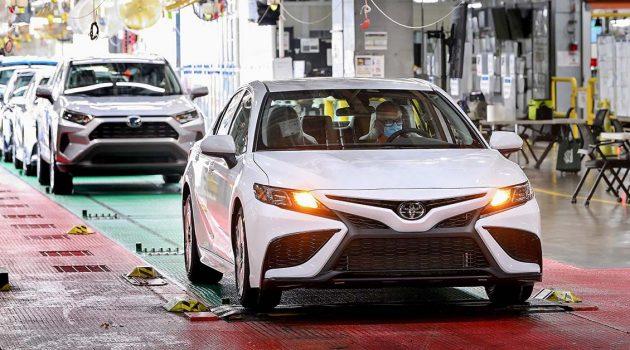 世界最畅销的D-Segment之一, Toyota Camry 北美累计产量达到1,000万台!