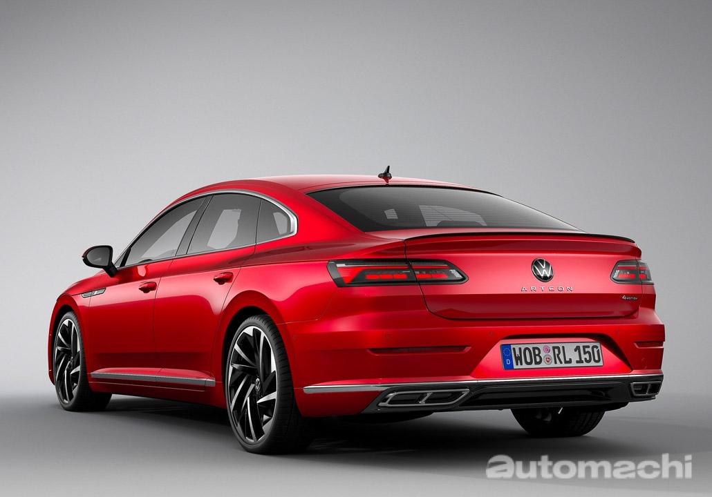 Volkswagen Arteon R-Line 4 Motion 正式发布,手机RM 247,670.97