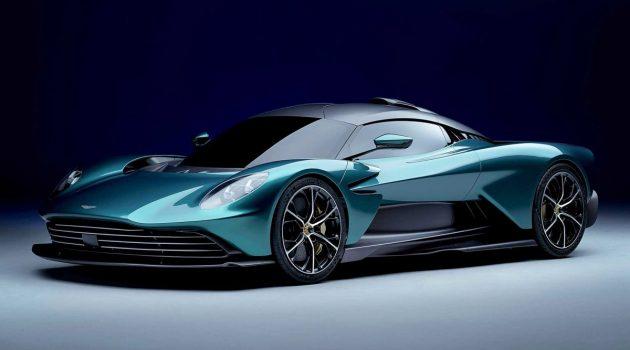Aston Martin Valhalla 量产版登场,1,000 Nm的插电混动超跑!