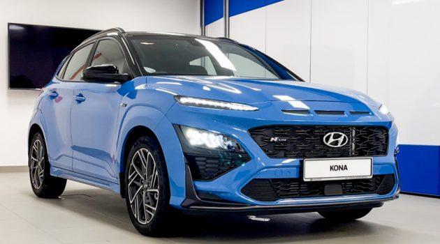 图库:2021 Hyundai Kona Turbo N-Line,带你细看这辆198PS的韩系运动 Crossover!