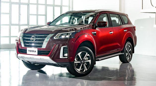 2021 Nissan Terra 高级7人座 SUV 泰国市场发布,当地售价 RM152,410 起跳!