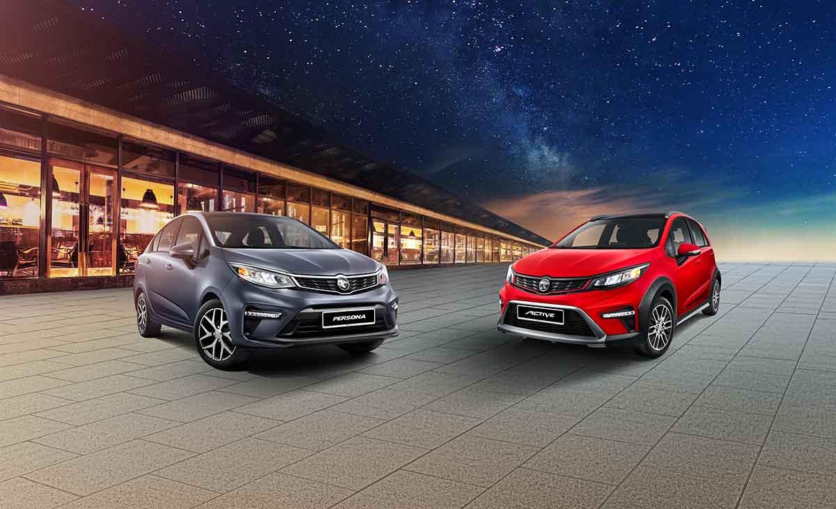 2022 Proton Iriz & Persona 正式发布,售价从RM40,300起跳