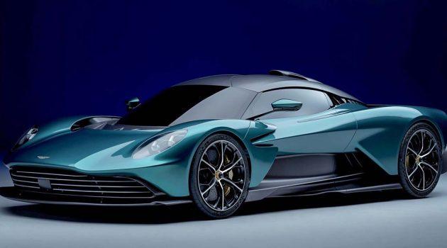 全马只有五辆! Aston Martin Valhalla 正式在我国接单!