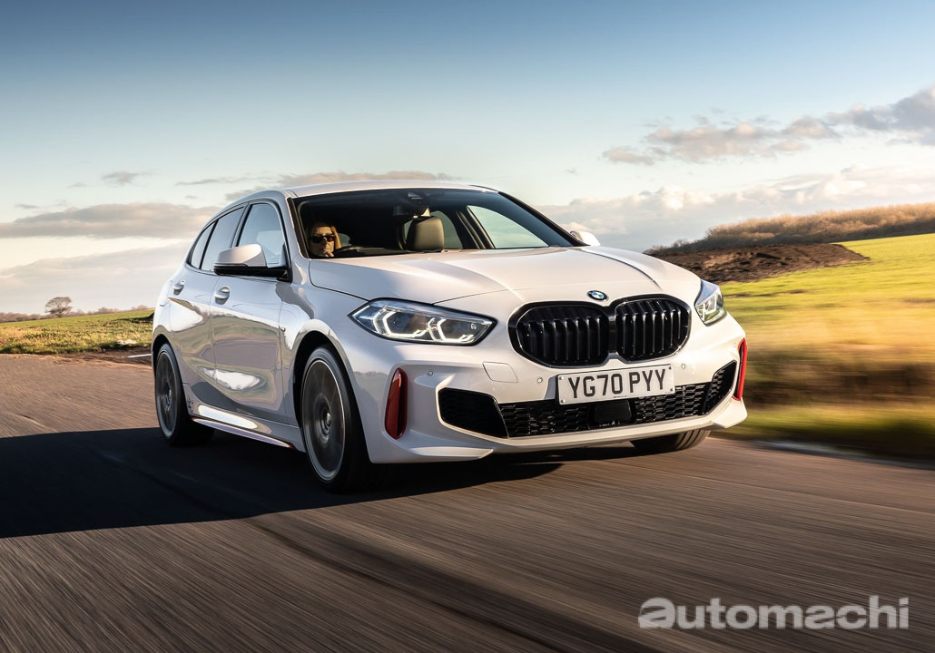 GTI 的对手来了,BMW F40 128ti 前驱钢炮登场