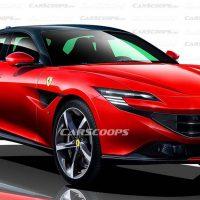 红马的首款SUV,Ferrari Purosangue 最快在2022年和我们见面