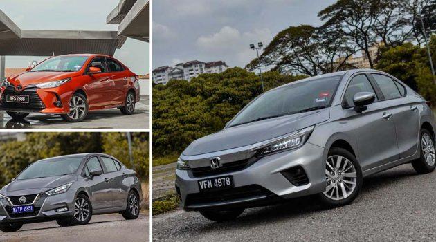 你应该怎么选?三款日系 B-Segment Sedan 的规格对比