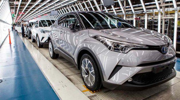 供应受到影响, Toyota 9月将减产40%的汽车数量