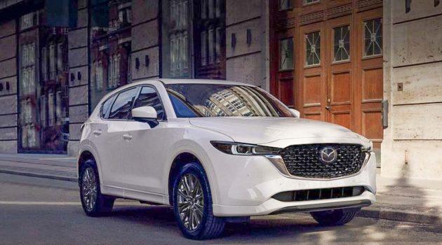 2022 Mazda CX-5 小改款登场,增加全新 Mi-Drive 驾驶模式(更新)