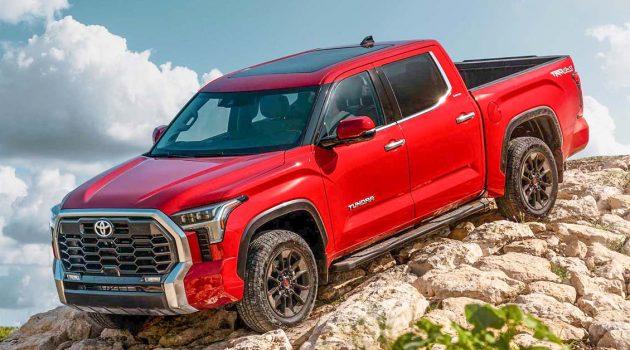 超霸气王者, 2022 Toyota Tundra 正式在美国首发