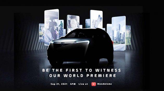 新一代车款狙击 Xpander ?Honda 全新 SUV 将在9月21日全球首发