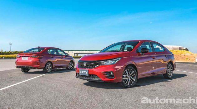 Honda City 霸气尽显,力压 Vios 以及 Almera 成为泰国最畅销B-Segment Sedan