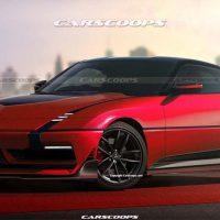 Mitsubishi GTO 渲染图:将基于 Nissan Fairlady 打造?