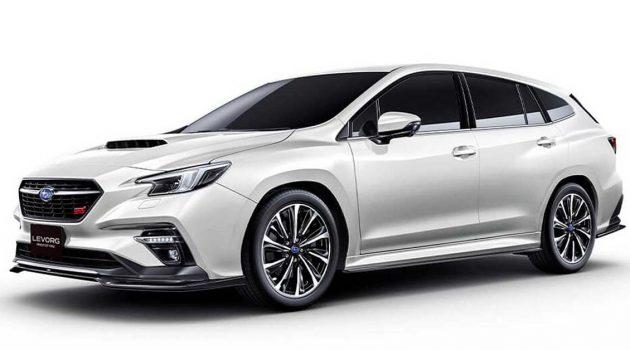 超强动力的旅行车, Subaru Levorg 或增加2.4涡轮性能版