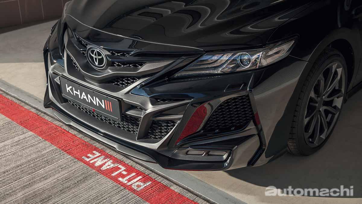 超夸张设计风格,Toyota Camry Khann HRS Classic 套件登场