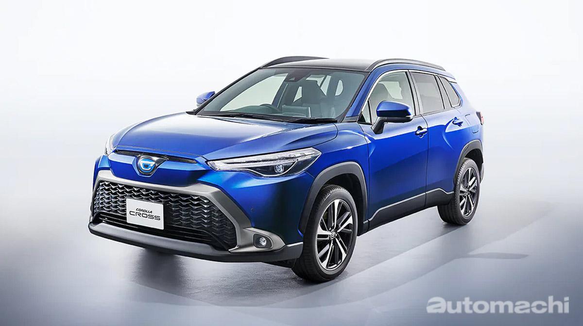 全新外观设计,配备更出色, Toyota Corolla Cross 日规版本登场!