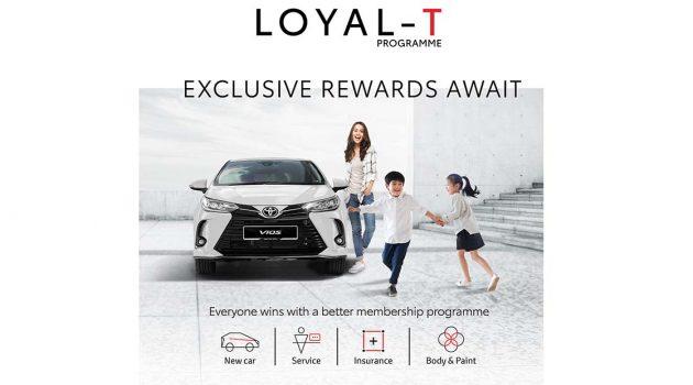 车主的最好回报! UMWT 推出 Toyota Loyal-T 计划!