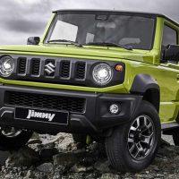 Suzuki Jimny 我国官方预告释出,确定将在近期发表!