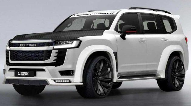 2022 Toyota Land Cruiser Liberty Walk 改装套件出炉,外观套件要价约 RM82,010!
