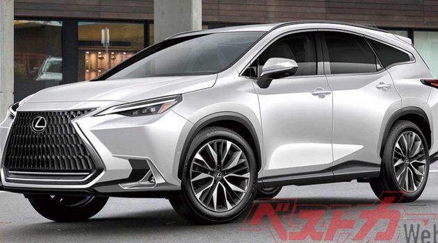2022 Lexus RX 或将在明年10月发表,或新增 3.5L V6 Hybrid 与 2.4L Turbo 引擎!