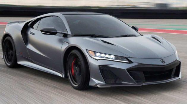 2022 Honda NSX Type S 日系百万超跑销量惊人,公开预定24小时内一抢而空!