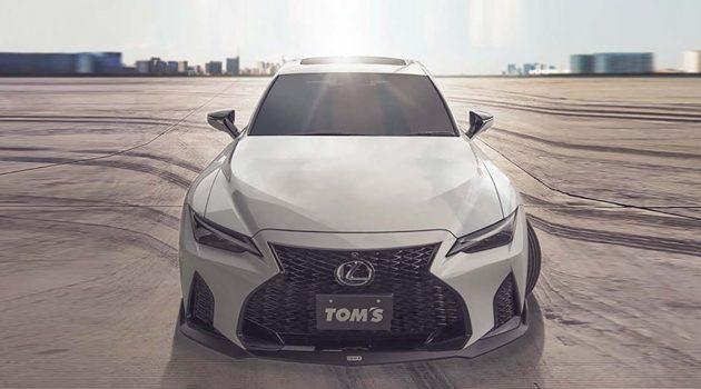 Tom's Racing 2021 Lexus IS 升级套件正式推出!不仅外观更帅气、操控更好、马力也有提升!